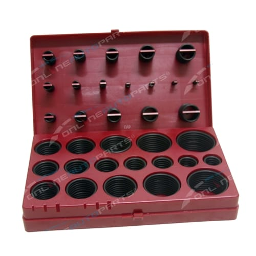O-Ring 419 Piece Metric Rubber Workshop Assortment Kit ORINGS O ring Box Gasket