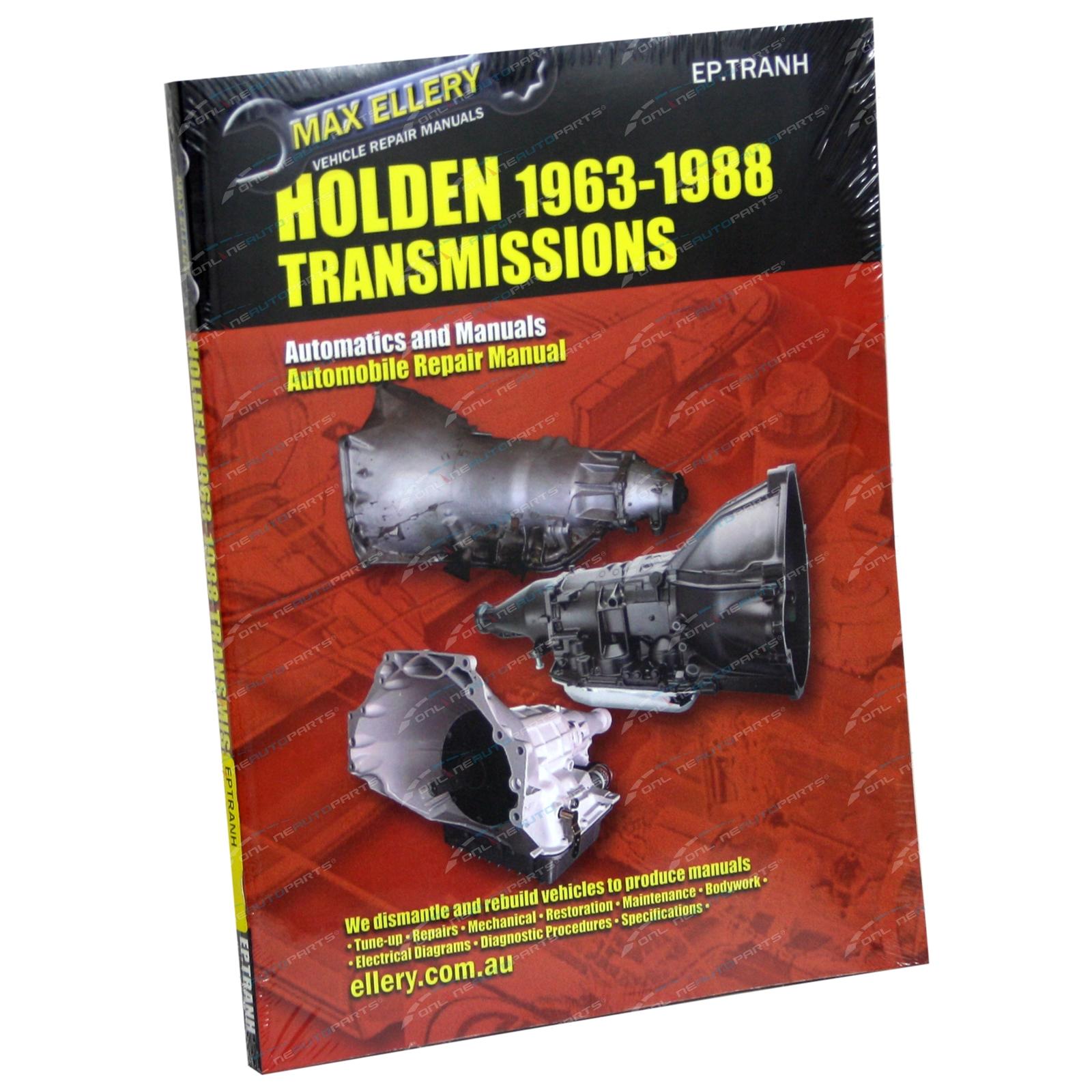 max ellerys vehicle repair manuals