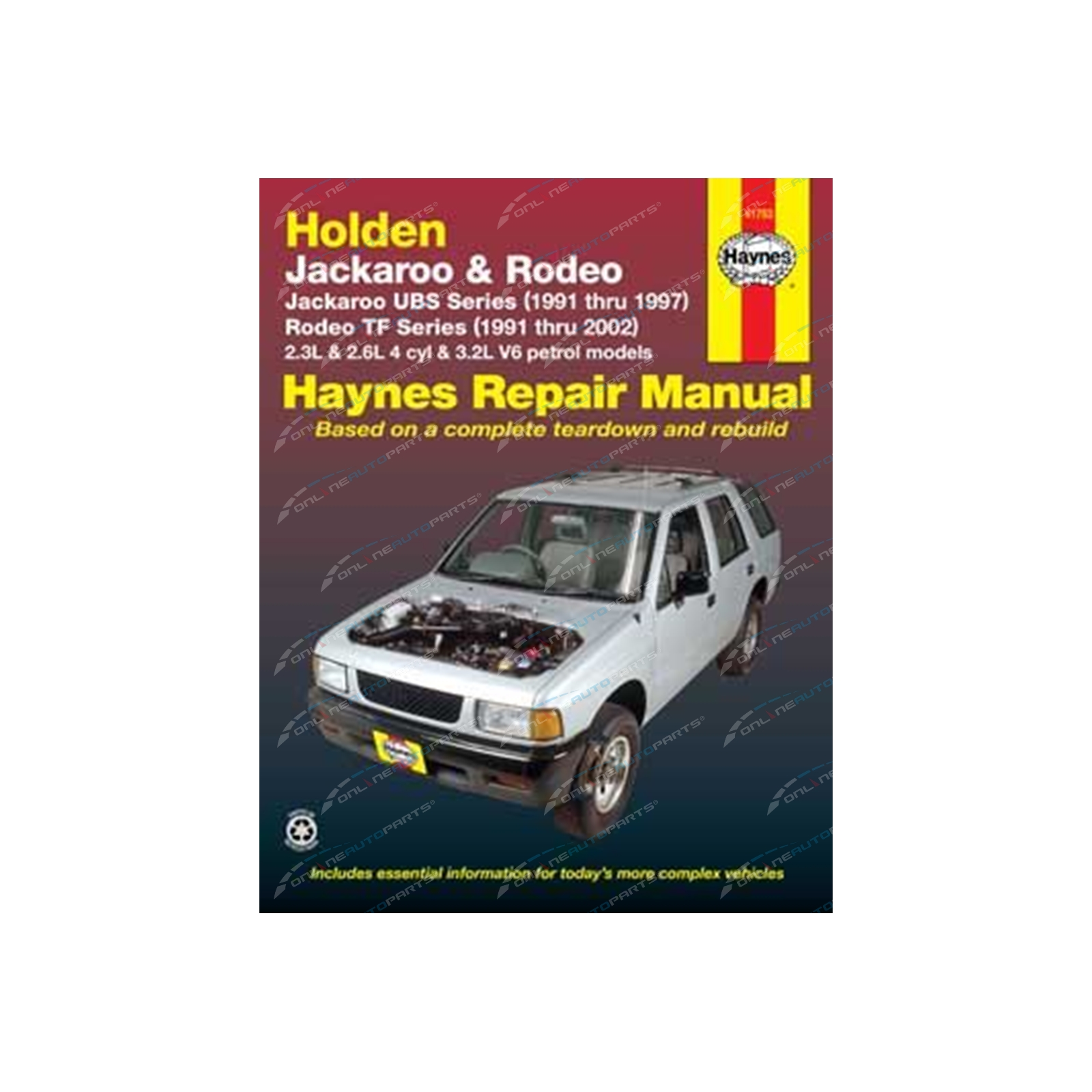 Haynes Car Repair Workshop Manual Book Haynes
