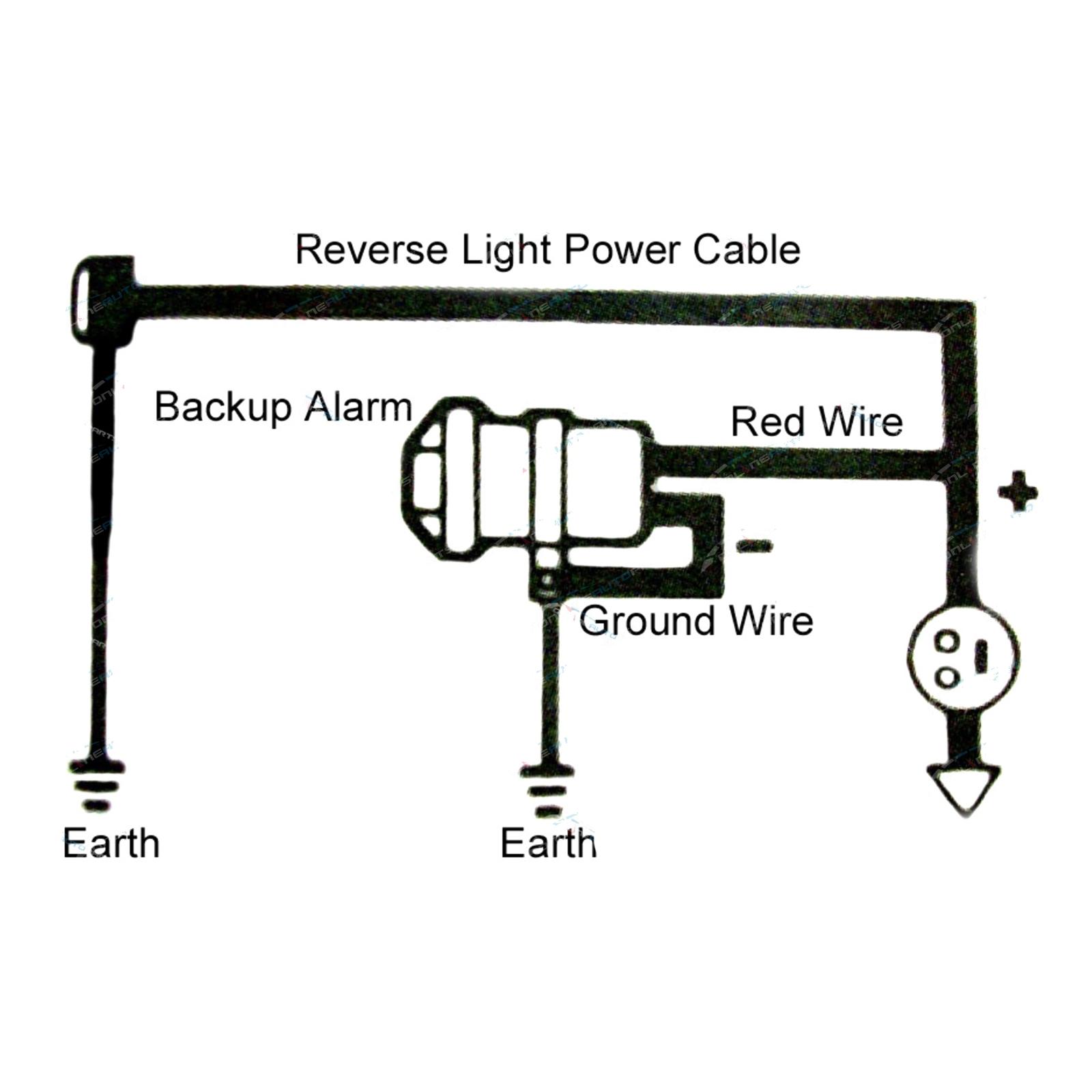 12 volt reverse back up horn    reversing siren beep beep