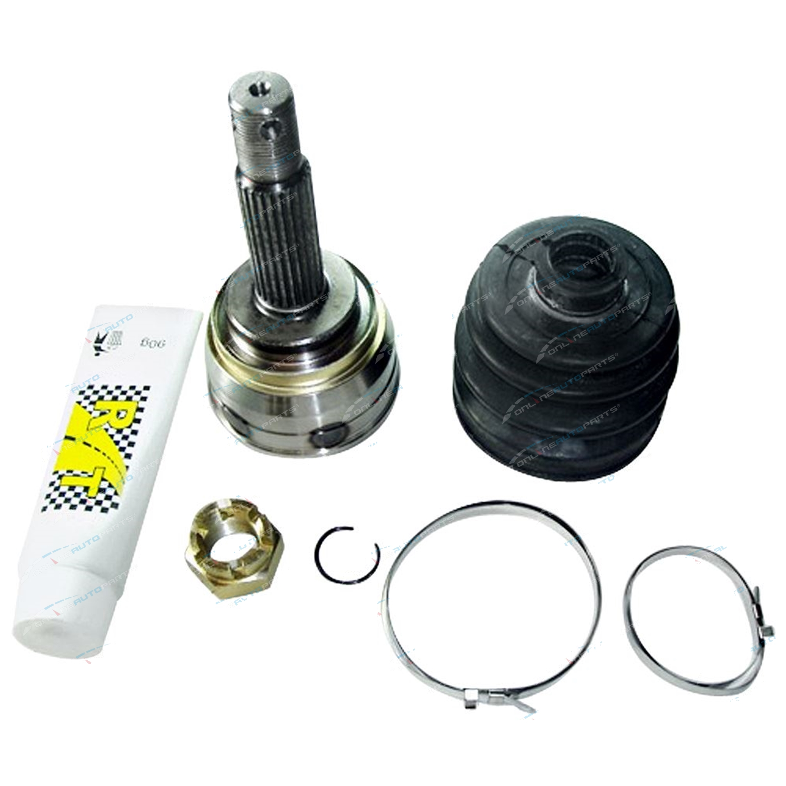 Outer Cv Joint & Boot Kit Hyundai Lantra 1.8l 9/1995-on (Front Outer Left or Front Outer Right) CV Joint OEM Replacement