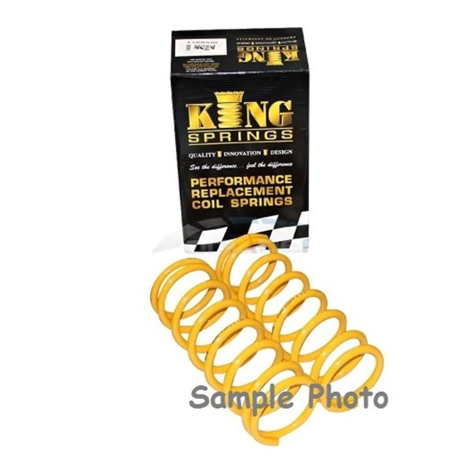 Coil Spring (Rear LH or Rear RH) King Springs