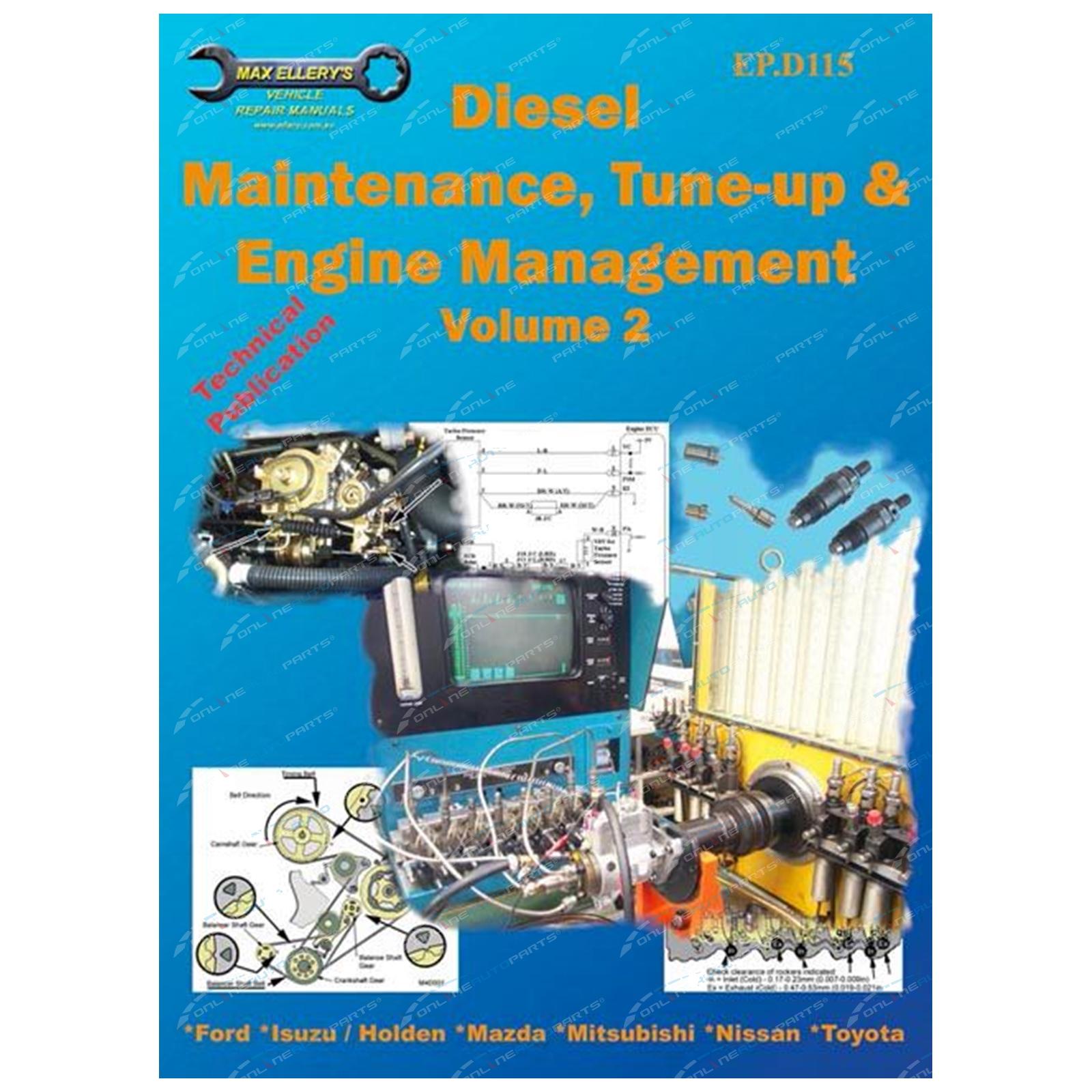 Max Ellery - Diesel Engines Vol 2 Book Max Ellery