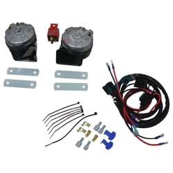 136dB High Power Stebel Magnum Twin Electric Horn + Wiring Harness Car Bike Loud