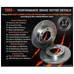 Brake Disc Rotor (Rear LH or Rear RH) Tora